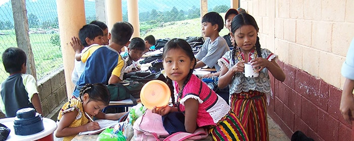 Orphans in Guatemals